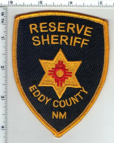 Eddy County Sheriff (New Mexico) 1st Issue Reserve Shoulder Patch