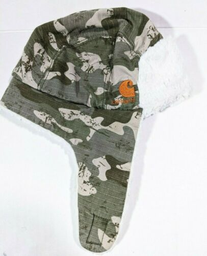 Carhartt infant - toddler Sherpa Fleece lined Trapper hat with ear flaps