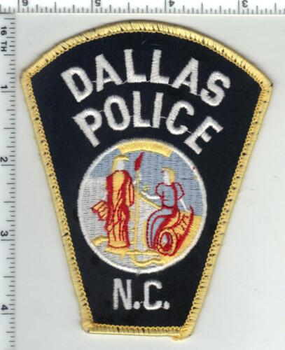 Dallas Police (North Carolina) 1st Issue Uniform Take-Off Shoulder Patch