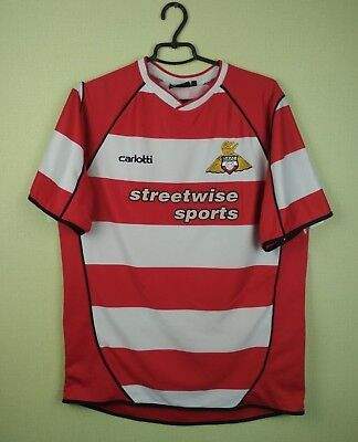 Doncaster Rovers jersey shirt 2003/2005 Home official carlotti soccer football L image