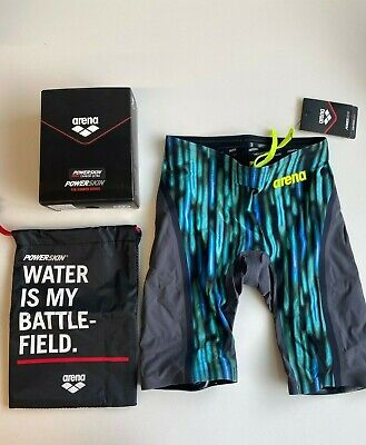 Arena Powerskin Carbon Ultra Jammer Race Tech Suit Men's Size US 32
