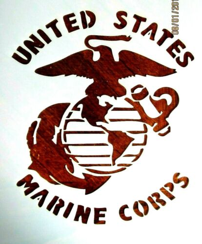 United States Marine Corps Stencil/Template Reusable 10 mil Mylar