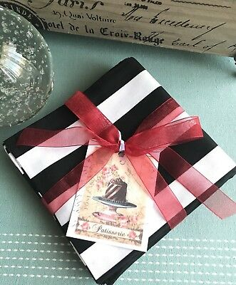 Striped Napkins (New Sophisticated Classic Black & White Striped Cotton Cloth Napkins Set of)