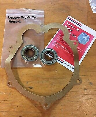 New Delavan Pump Repair Kit 28455-2 Turbo 90 T-90 Lip Seal Replacement Parts