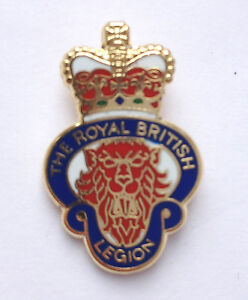 THE-ROYAL-BRITISH-LEGION-MILITARY-ENAMEL-LAPEL-PIN-BADGE