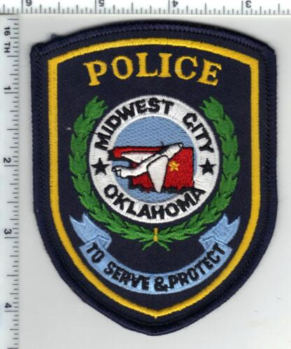 Midwest City Police (Oklahoma) Shoulder Patch - new - current