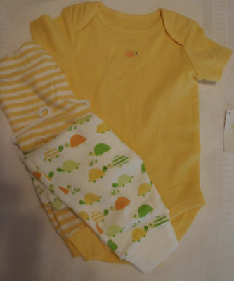 GYMBOREE Brand New Baby  0-3 Month Pants 3-6 Mo Bodysuit Outfit NWT
