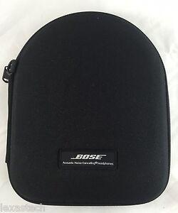 Bose QC3 Case canvas QuietComfort 3 Original Genuine OEM Bag Pouch headphones