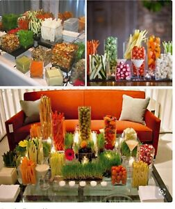 Glass cubes. Table scape or succulent. WOW Factor!