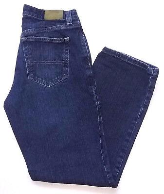 Tommy Hilfiger Womens Jeans Size 2 Straight Leg Dark Wash Blue Denim Pants Blue 2 Straight Leg Jeans