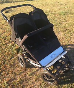 MOUNTAIN BUGGY DUO DOUBLE PRAM. VGC Smeaton Hepburn Area Preview