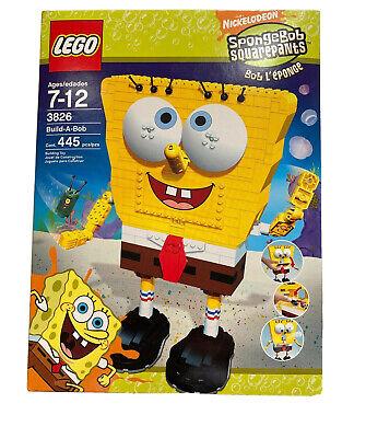 NEW Sealed! LEGO 3826 SpongeBob Build-A-Bob Super Rare Retired Discontinued Item