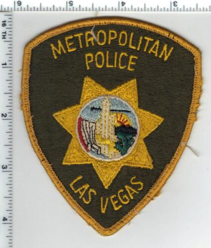 Las Vegas Police (Nevada) Uniform Take-Off Shoulder Patch from the early 1980