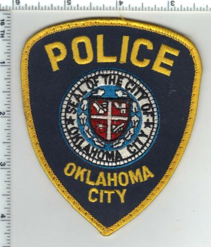 Oklahoma City Police (Oklahoma) Shoulder Patch from a wall display