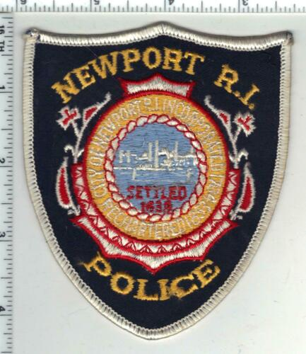 Newport Police (Rhode Island) 1st Issue Shoulder Patch