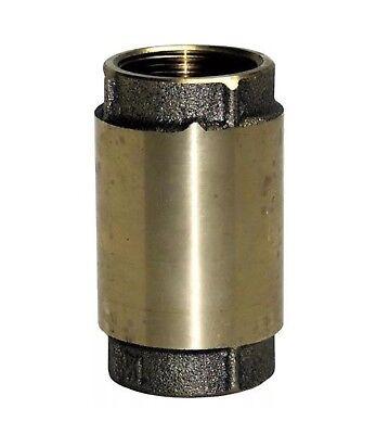 Proplumber 1 Brass Check Valve New