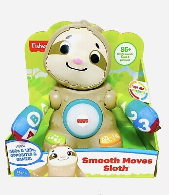 Fisher-Price Linkimals Smooth Moves Sloth with Music & Lights.