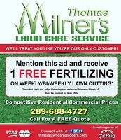 Milners lawn care . Grass cutting. Yard clean ups. Durham