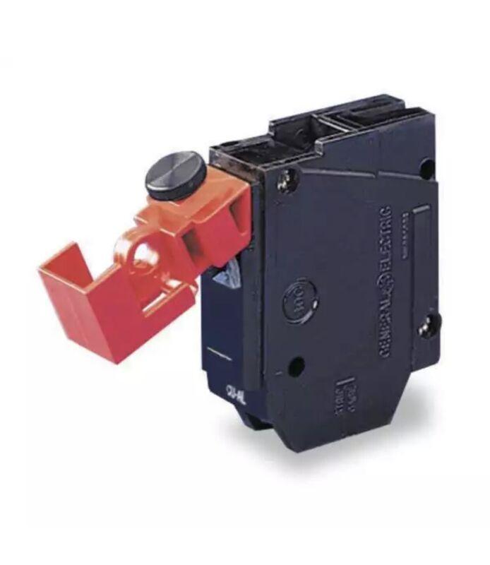 6 pk Brady 480 600 Volt No-Hole Circuit Breaker Lockout Cleats, #65965 LOTO