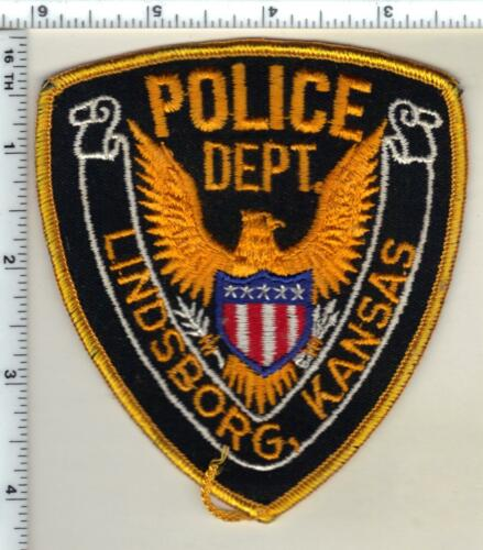 Lindsborg Police (Kansas) Shoulder Patch - new from the 1980