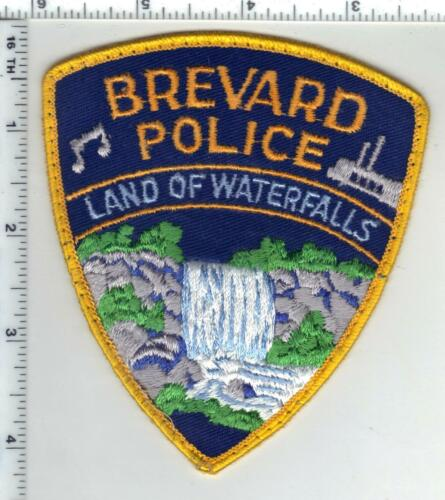 Brevard Police (North Carolina) 2nd Issue Uniform Take-Off Patch
