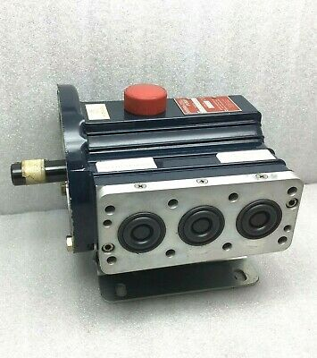 Wanner D03 Hydra-cell Pump D03xkmgcctma Seal-less Pump - Needs Manifold Valve