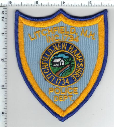 Litchfield Police (New Hampshire)  Shoulder Patch  - new from the 1980