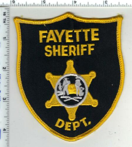 Fayette Sheriff Dept. (West Virginia) 7th Issue Uniform Take-Off Shoulder Patch