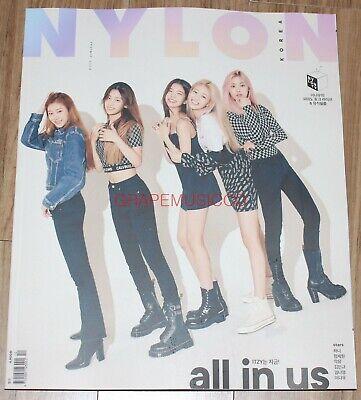 NYLON ITZY KOREA ISSUE MAGAZINE 2019 OCT OCTOBER NEW
