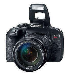 Canon Eos Rebel T7i Eos 800d 242mp Digital Slr Camera Black