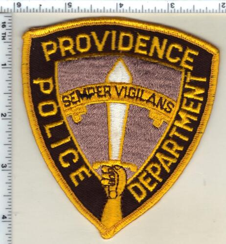 Providence Police (Rhode Island) 1st Issue Uniform Take-Off Shoulder Patch