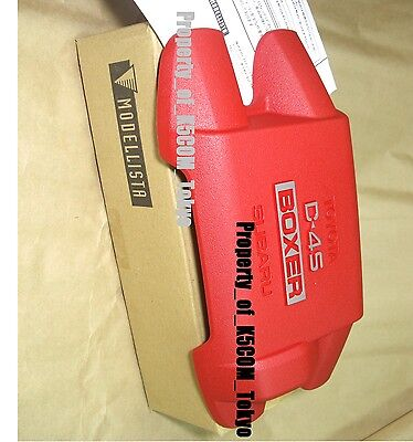 Oem MODELLISTA Red Cover Engine TOYOTA 86 SUBARU SCION FR-S FRS GT 2012-2016 :D