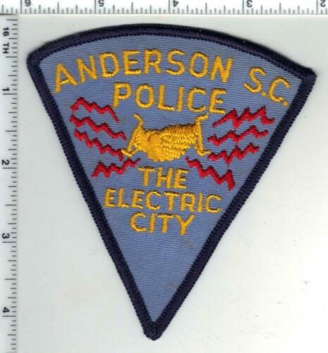Anderson Police (South Carolina) 1st Issue Shoulder Patch