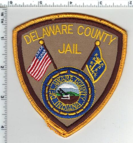 Delaware County Jail (Indiana) Shoulder Patch - new from the 1980s