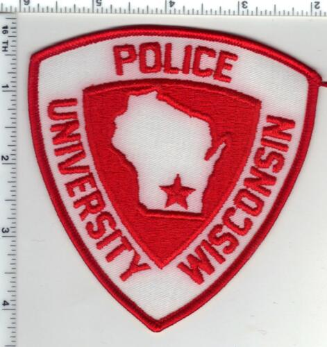 University Police (Wisconsin) 1st Issue Red Shoulder Patch