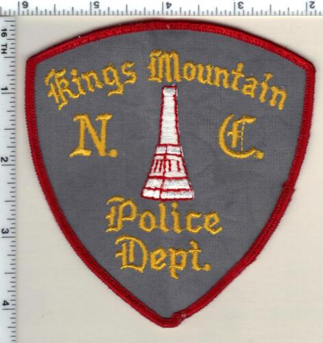 Kings Mountain Police (North Carolina) Uniform Take-Off Shoulder Patch from 1993