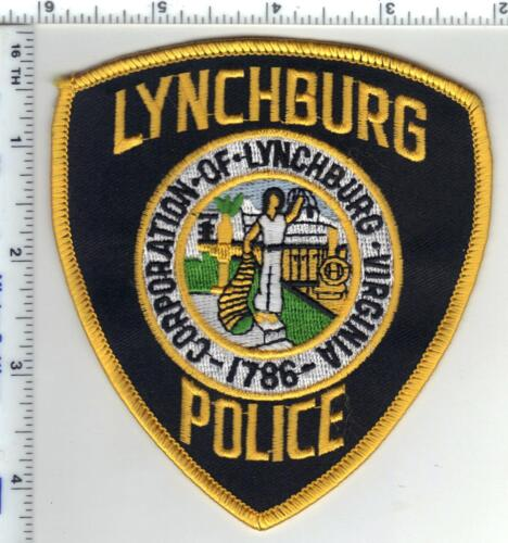 Lynchburg Police (Virginia) Shoulder Patch from the 1980