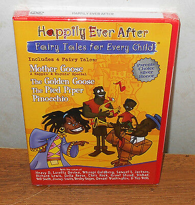 Happily Ever After Collection: Fairy Tales for Every Child (DVD, 2004) BRAND NEW - Fairies Movies For Kids