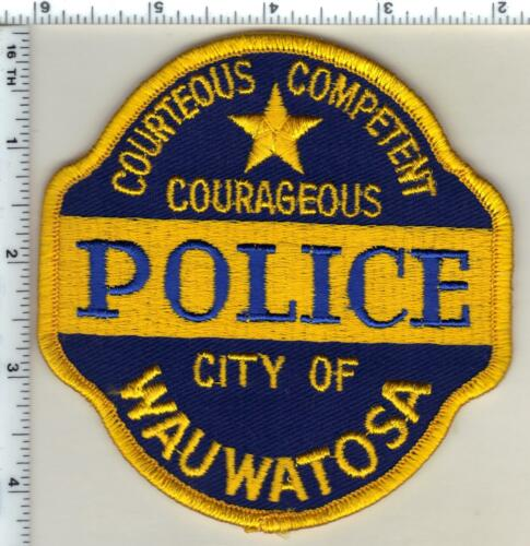 Wauwatosa Police (Wisconsin) 1st Issue Shoulder Patch - Very RARE