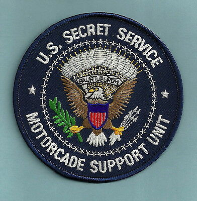 U.S. SECRET SERVICE PRESIDENTIAL MOTORCADE SUPPORT UNIT POLICE PATCH
