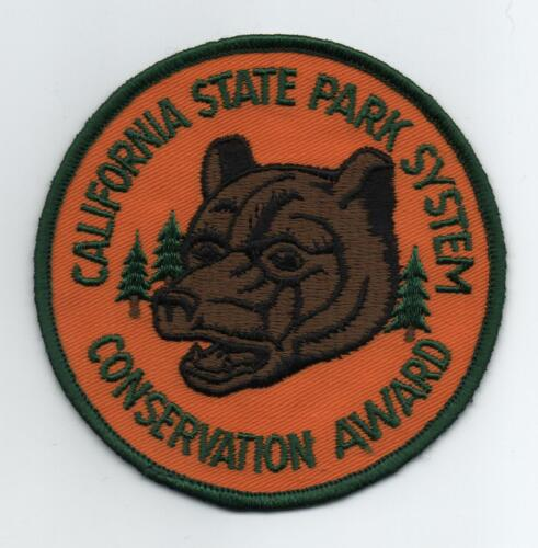 """California State Parks Conservation Award 4"""" Jacket Patch"""