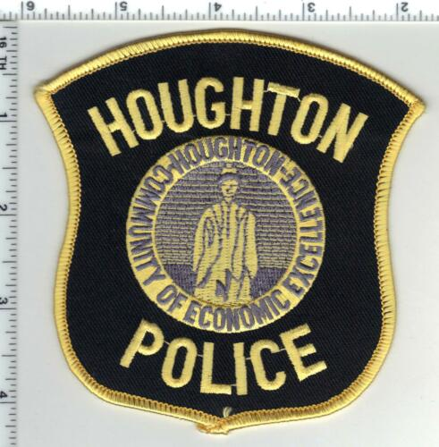 Houghton Police (Michigan) Shoulder Patch  - new from the 1980