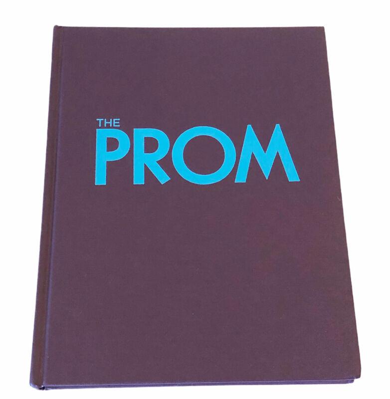 The Prom Script Screenplay Hardcover Book FYC Martin Beguelin Netflix Purple