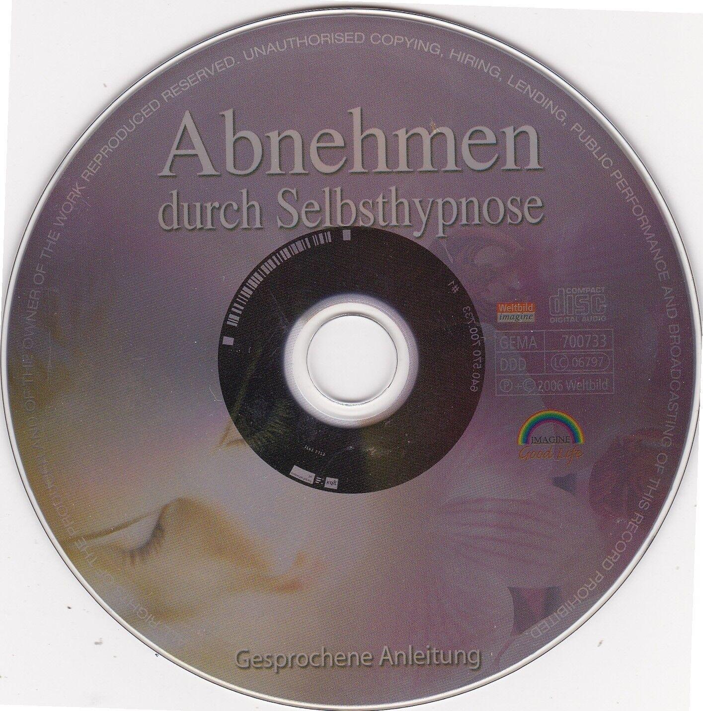 1 CD Abnehmen durch Selbsthypnose Verena Freimuth Gewichtsreduzierung Hörbuch