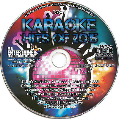 April 2015 Cdg Cd+g Mrh128 Musical Instruments & Gear Karaoke Cdgs, Dvds & Media Reliable Mr Entertainer Karaoke Chart Hits Vol 128 18 Tracks