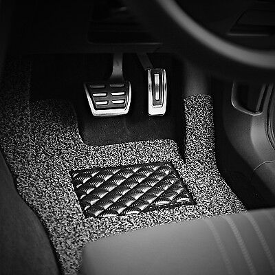 Self Tailored Car Mat Fit AudiEasy Clean Dirt Trapper Jet WashableNICOMAN