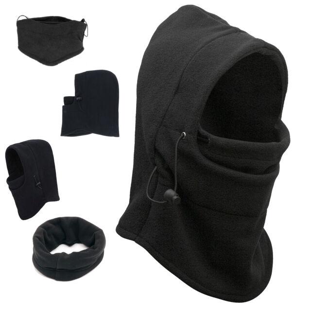 Thermal Balaclava Full Face Ski Mask Motorcycle Winter Hat Cap Unisex Fleece