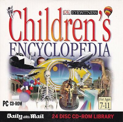 Eyewitness CHILDREN'S ENCYCLOPEDIA  ( DAILY MAIL Promo CD-ROM ), used for sale  Shipping to Nigeria