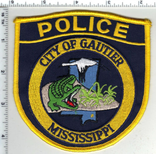 City of Gautier Police (Mississippi) Shoulder Patch from the 1980