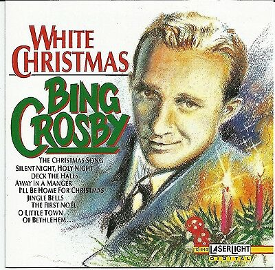 Crosby Holiday Party Music CD Classic Carols (White Christmas Party)